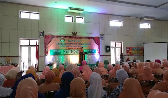 Resepsi Peringatan HUT KE-19 Dharma Wanita Persatuan 2018