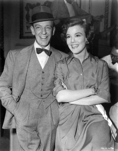 "Fred Astaire as Tony Hunter and Nanette Fabray as Lily Marton in 1953 ""The Band Wagon"""