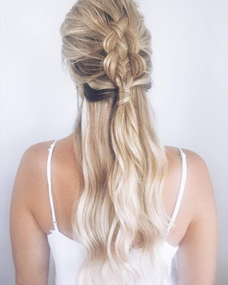 TO THE AISLE AUSTRALIA BOHO WEDDING HAIR STYLIST