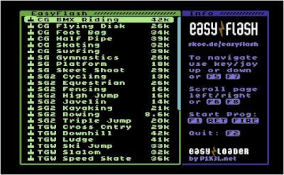 EasyFlash C64 Olympic Games 36in1