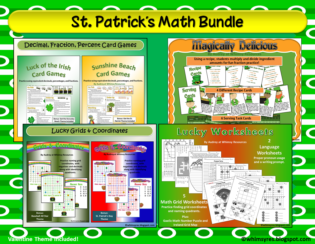 Whimsy Resources St Patrick S Day