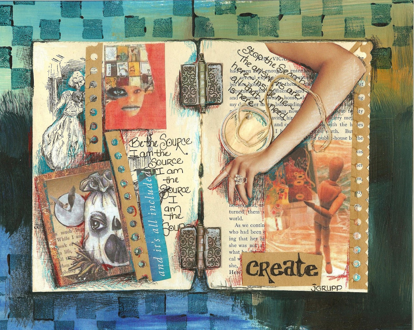 Collage Images Art Journal