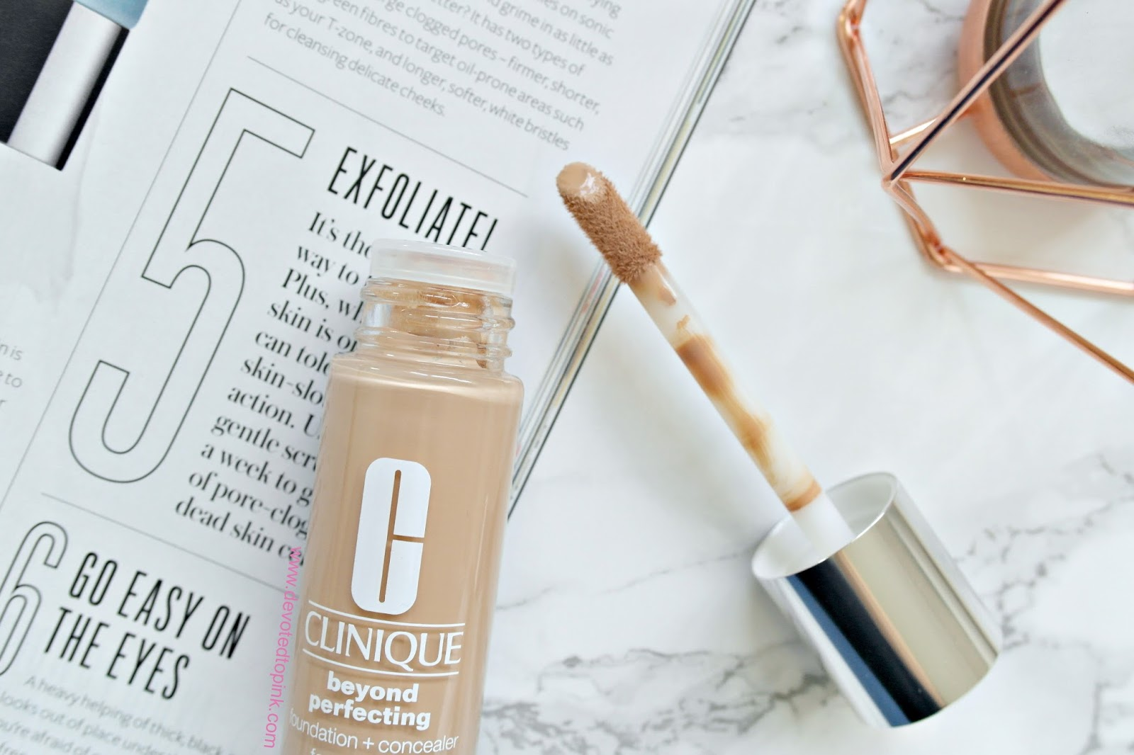Clinique beyond perfection foundation, review