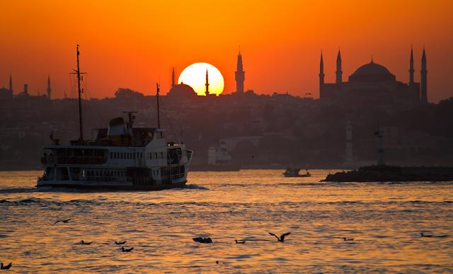Cidade Turística Istambul na Turquia
