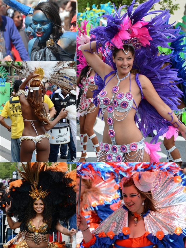 Collage Rotterdam Zomercarnaval