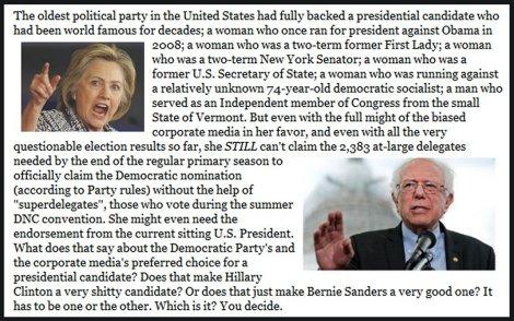 If not Bernie, Trump