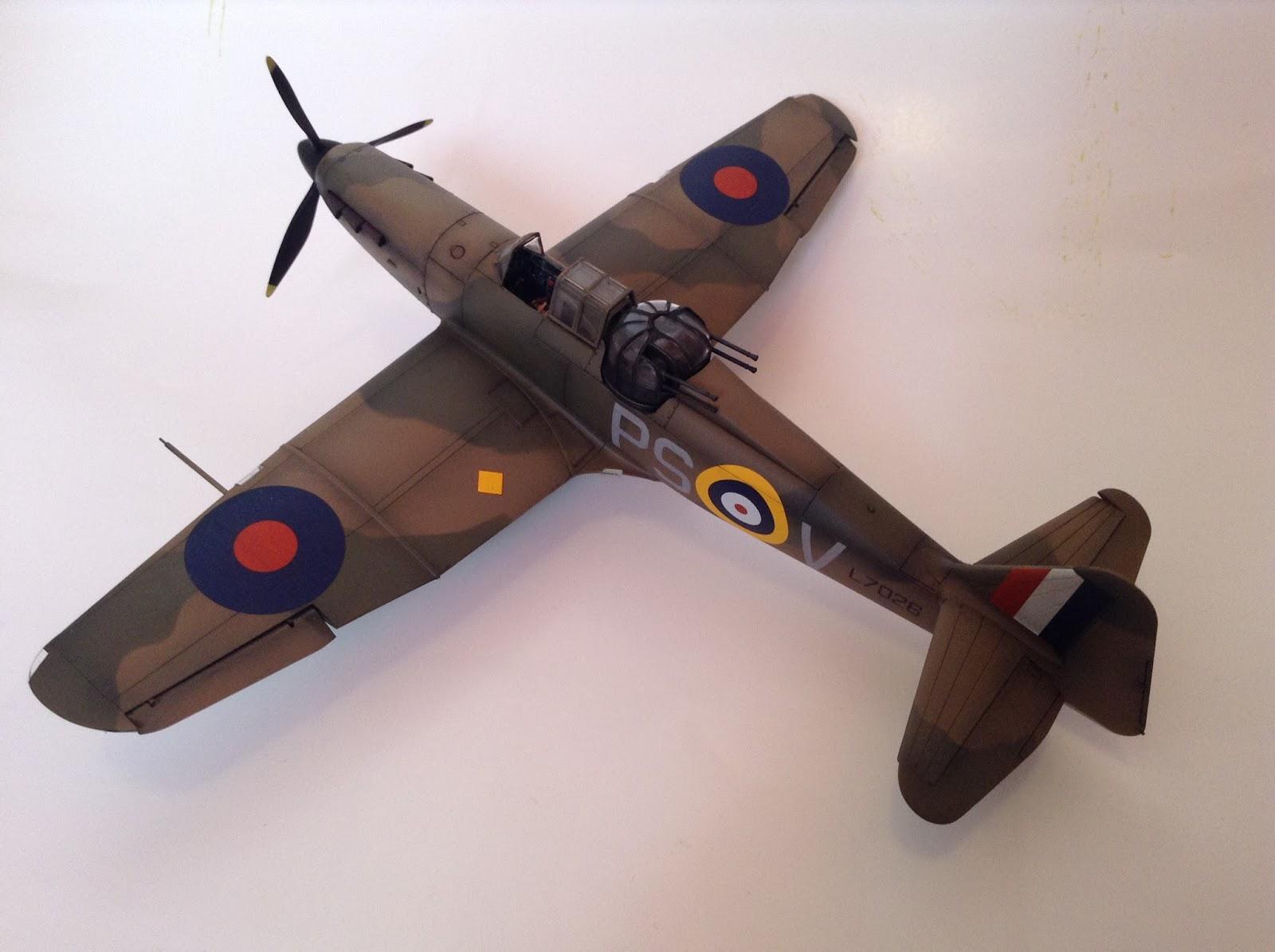 Airfix 1/48 Defiant - Ready for Inspection - Aircraft - Britmodeller com