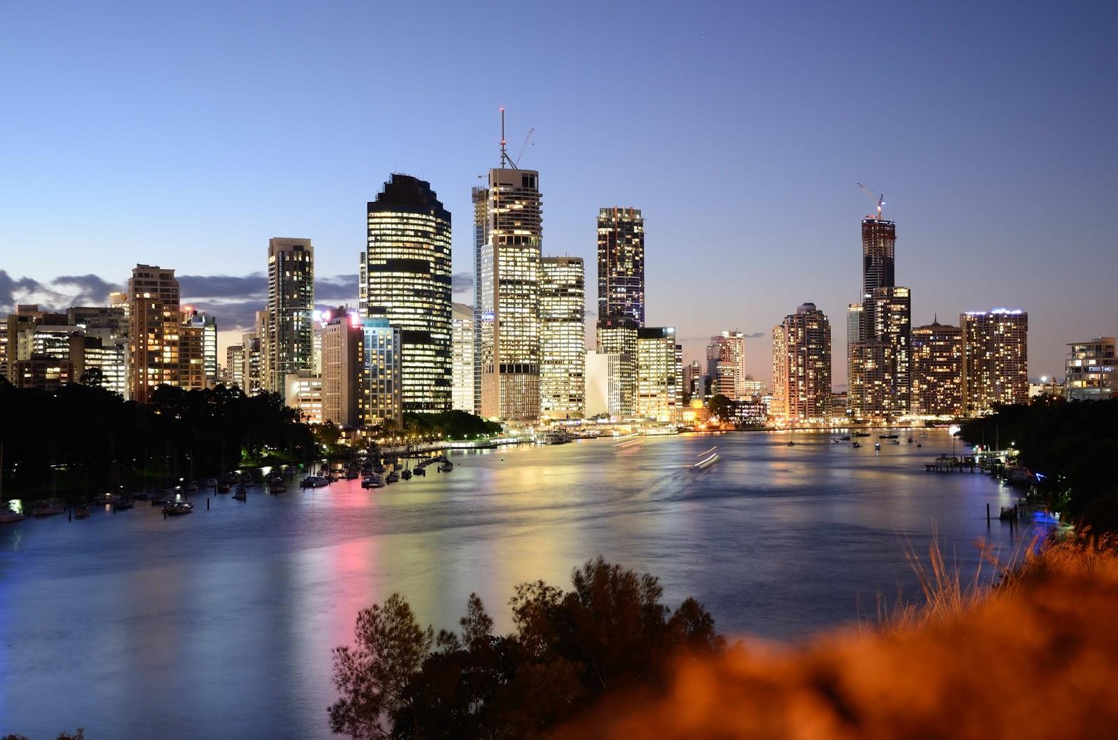#Brisbane, Cidade da Austrália