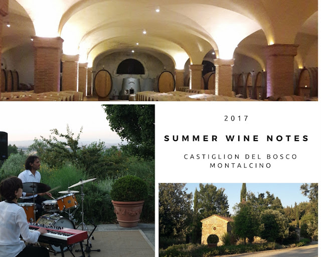photos of Castiglion del Bosco winery