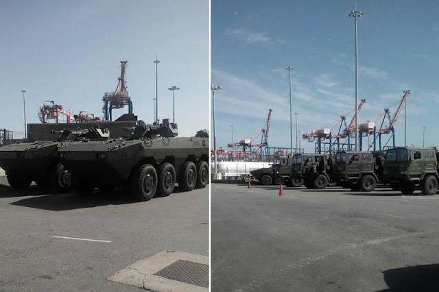 ¡EL COLMO! El país sin comida ni medicinas y llega cargamento con armamento militar a Venezuela