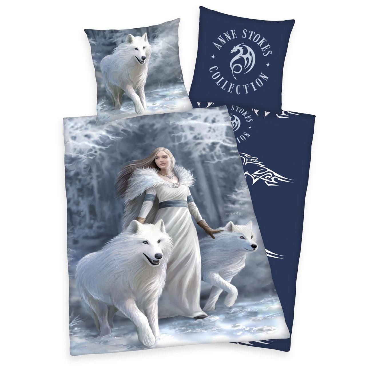 Hadesflamme Merchandise Onlineshop Anne Stokes Bettwäsche