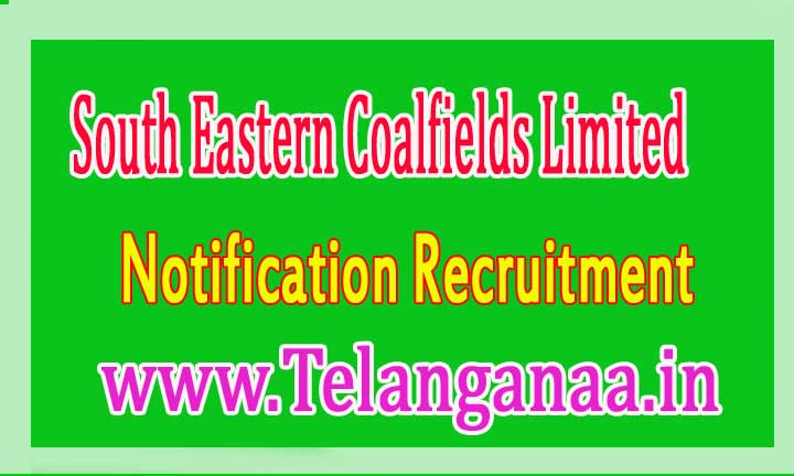 SECL (South Eastern Coalfields Limited) Recruitment Notification 2016