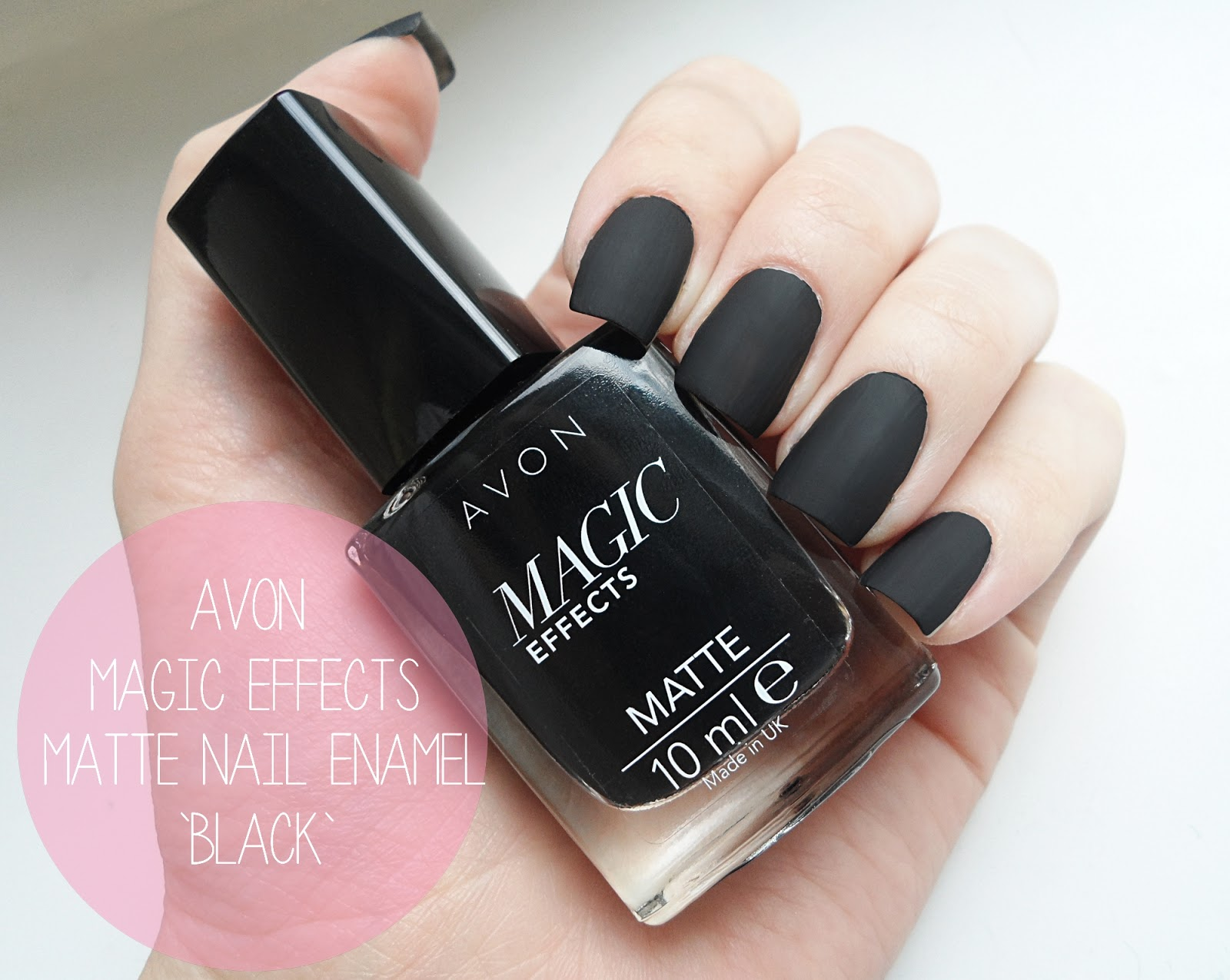 AVON MAGIC EFFECTS MATTE NAIL ENAMEL | REVIEW & SWATCHES - REVIEWS ...