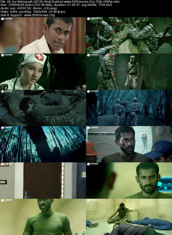 Ek Aur Mahayudh (2018) Hindi Dubbed 720p HDRip