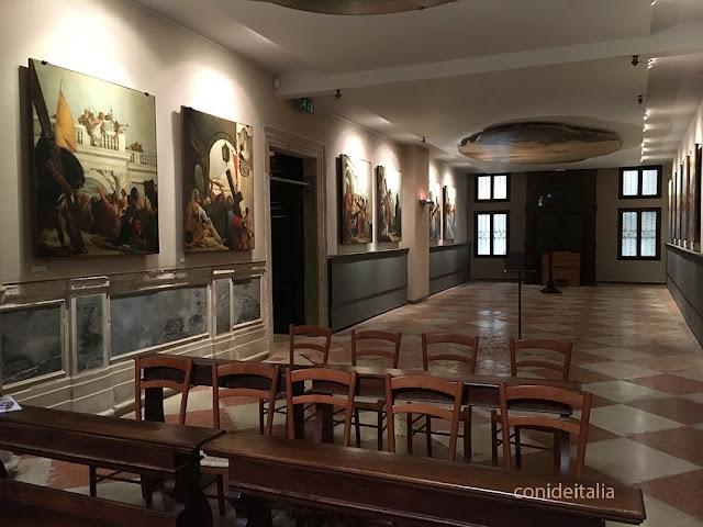 Interior iglesia de San Polo