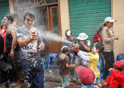 carnaval ecuador guaranda