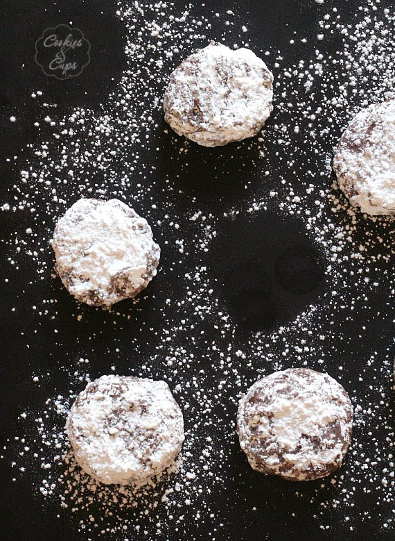 Puppy Chow Cookies: Cookies And Cups
