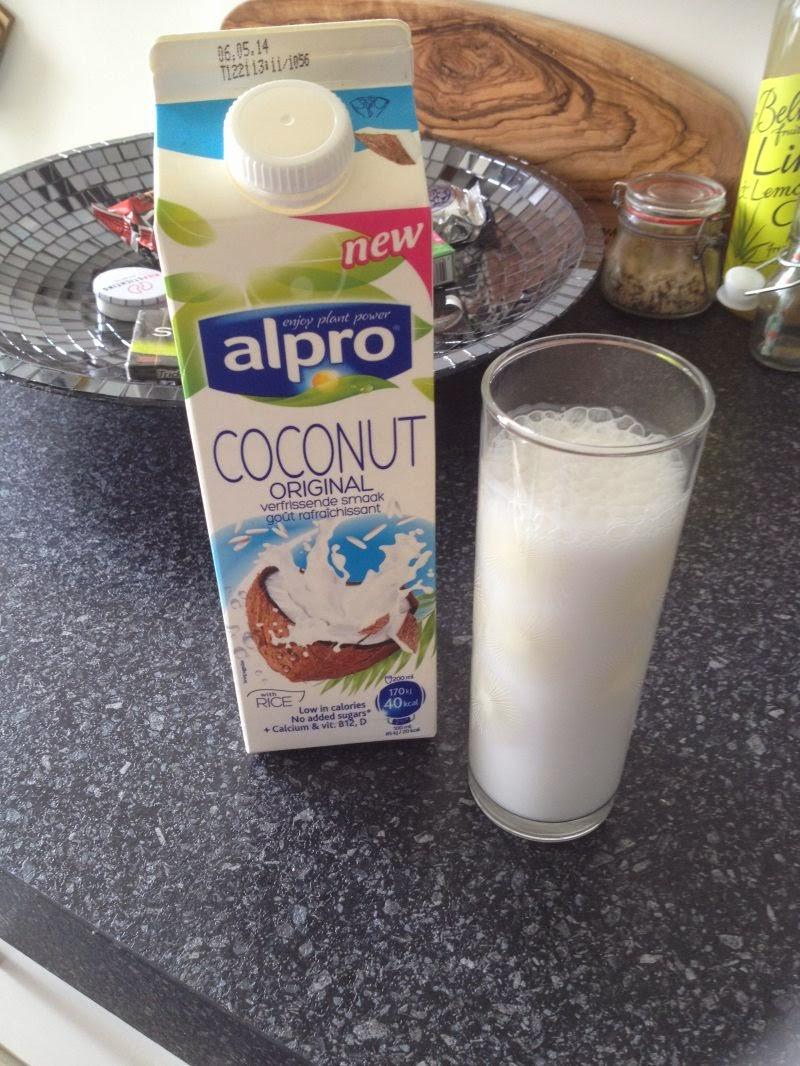 My happy kitchen test: Alpro coconut original