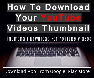 How To Download YouTube Videos Thumbnail?