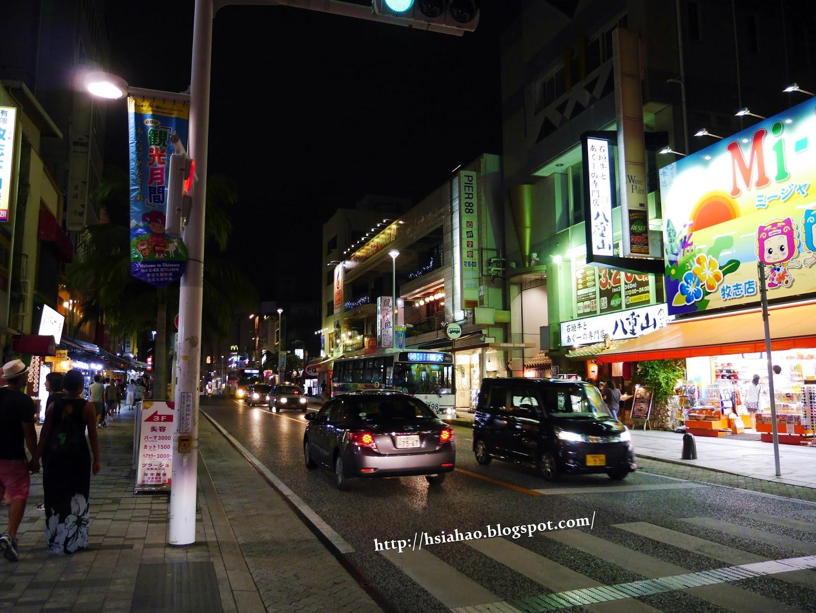 沖繩-國際通-夜晚-商店-購物-逛街-景點-自由行-Okinawa-kokusaidori