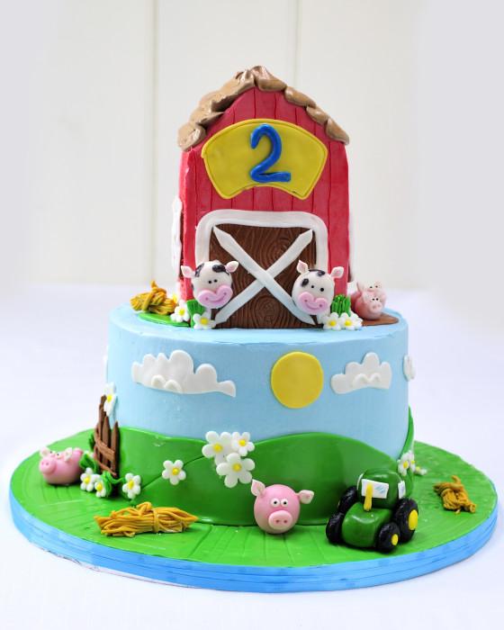 Hanielas Barn Farm Cake