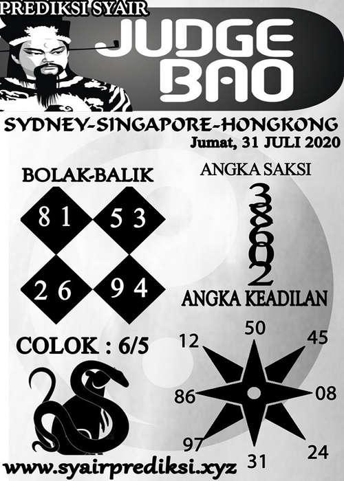 Kode syair Hongkong Jumat 31 Juli 2020 204
