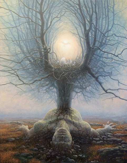 Tomasz Alen Kopera 1976 Magical Surrealism Painter Tutt'art Pittura Scultura Poesia