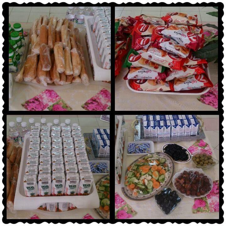 توزيعات فطور صحي للمدرسة