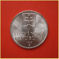 Anverso Corona Eslovaca
