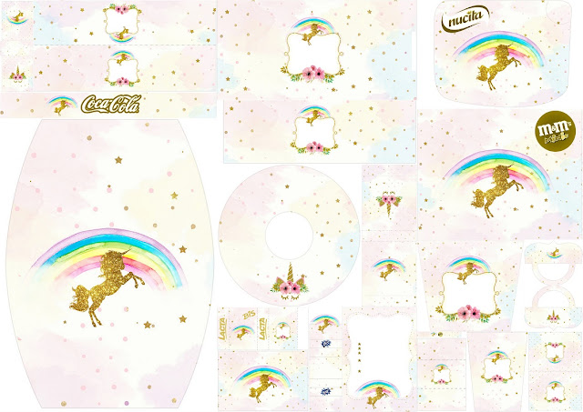 unicorn party free printable candy bar labels oh my fiesta in