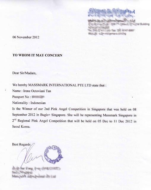 Visa Sponsor Letter  BesikEightyCo