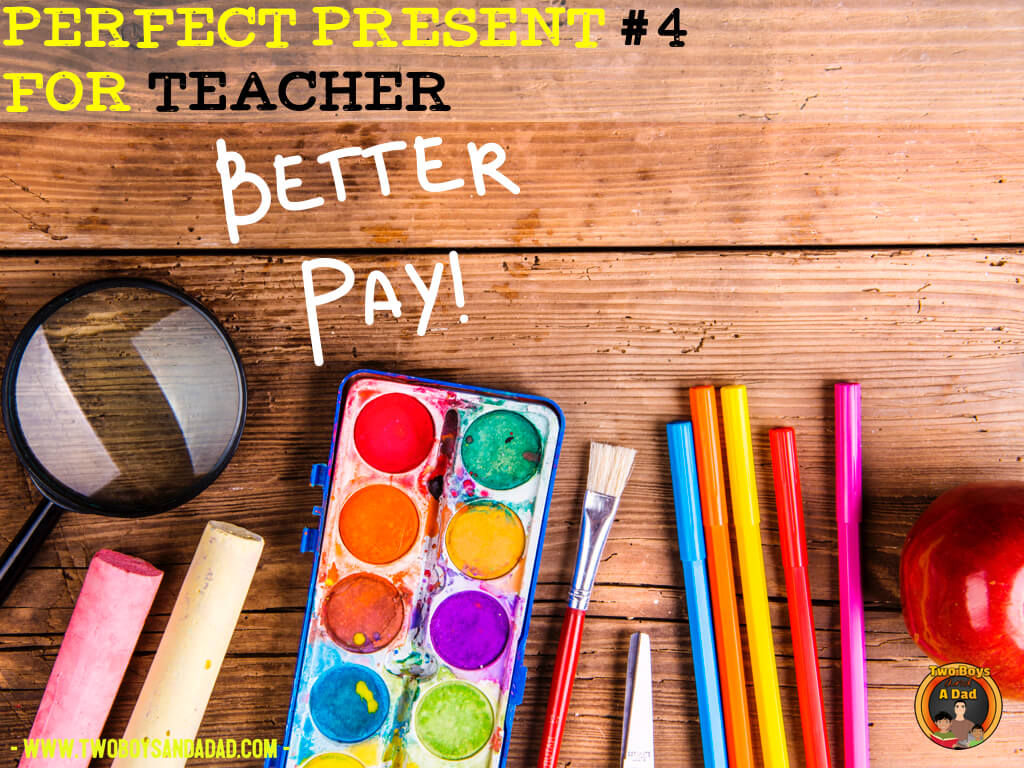 teachers want better pay