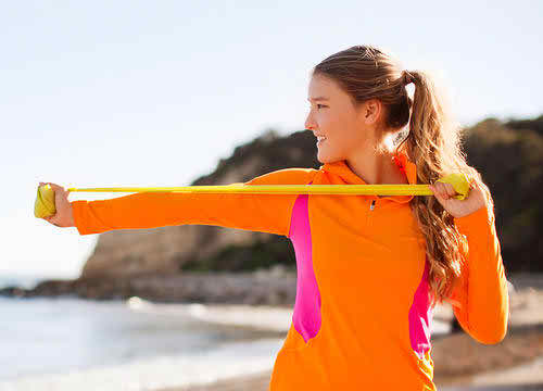This Resistance-Band Interval Workout Will Speed Up Your Metabolism