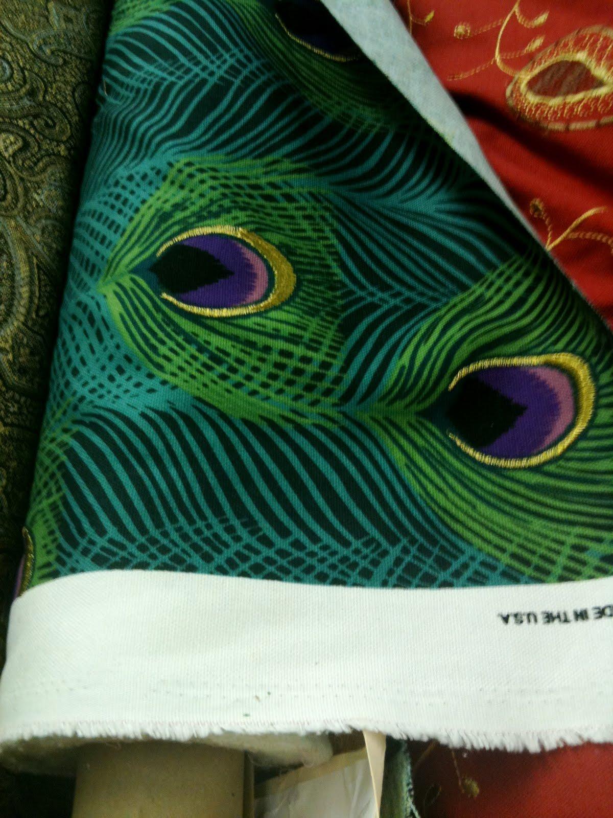 Marybethmakeshats Peacock Prints Big 2011 Fashion Trend