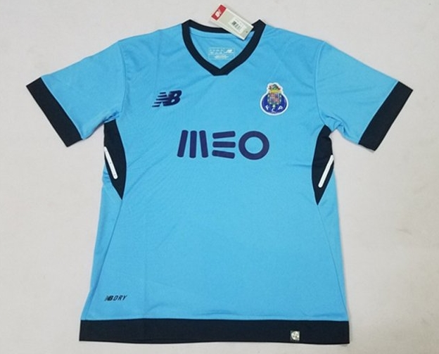 Porto 17-18 Away Blue Soccer Jersey