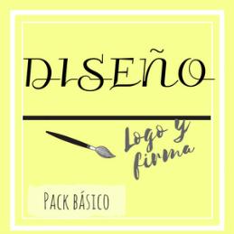 Carte diseño pack básico (logo y firma)