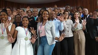 Wilson Dìaz proclama hemos asumido el compromiso de trabajar por y para la juventud de San Cristóbal