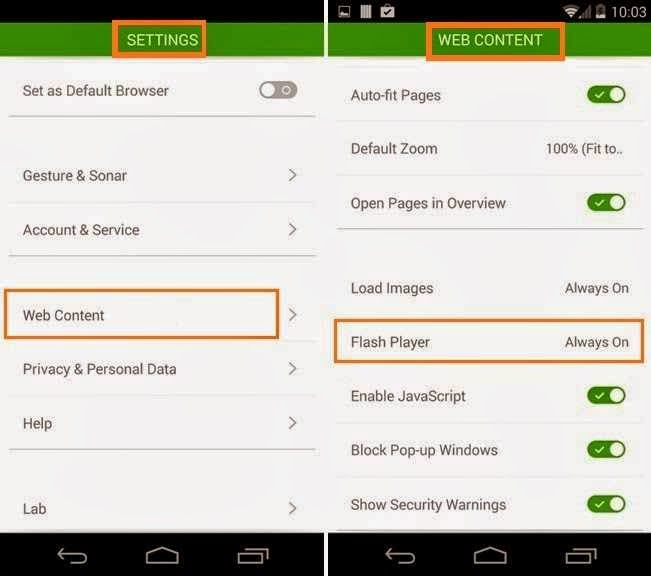 How to Install Flash Player on Android 4.4 Devices