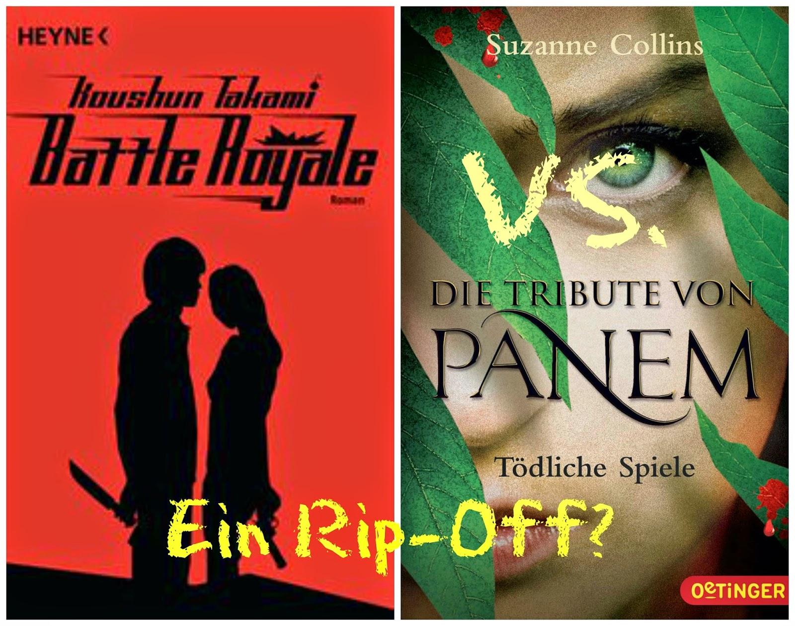 page-after-page: Battle Royale vs  Tribute von Panem - Ein