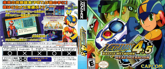 Capa Megaman Battle Network 4.5 Real Operation Gameboy Advance