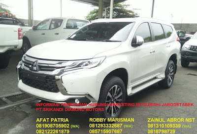 HARGA MITSUBISHI ALL NEW PAJERO SPORT 2019