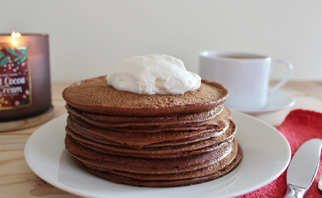 Low Carb Hot Cocoa Pancakes