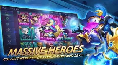Mobile Heroes : Mobile Legends Versi RPG 2