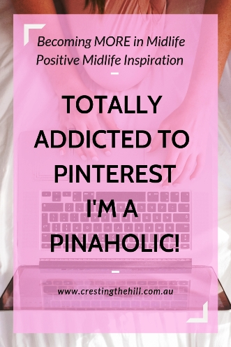 It's confession time - I'm totally addicted to Pinterest and I think I may even be a Pinaholic! #pinterest #pinning