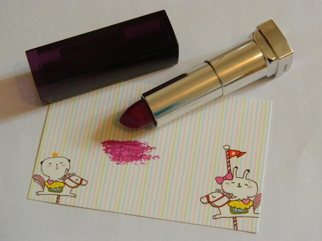 Maybelline Plum Passion Lipstick, Maybelline Lipstick,