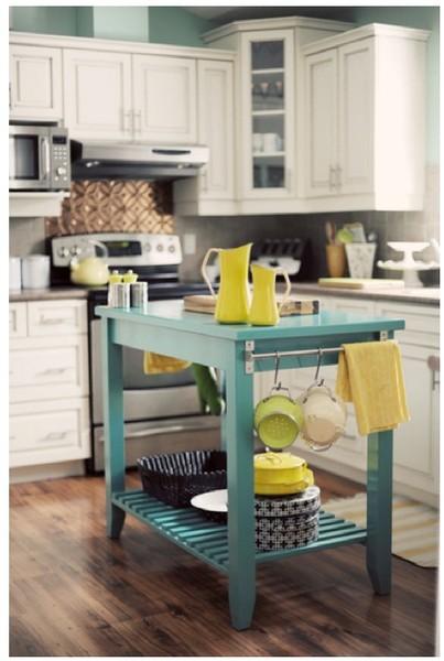 small-space kitchen island inspiration