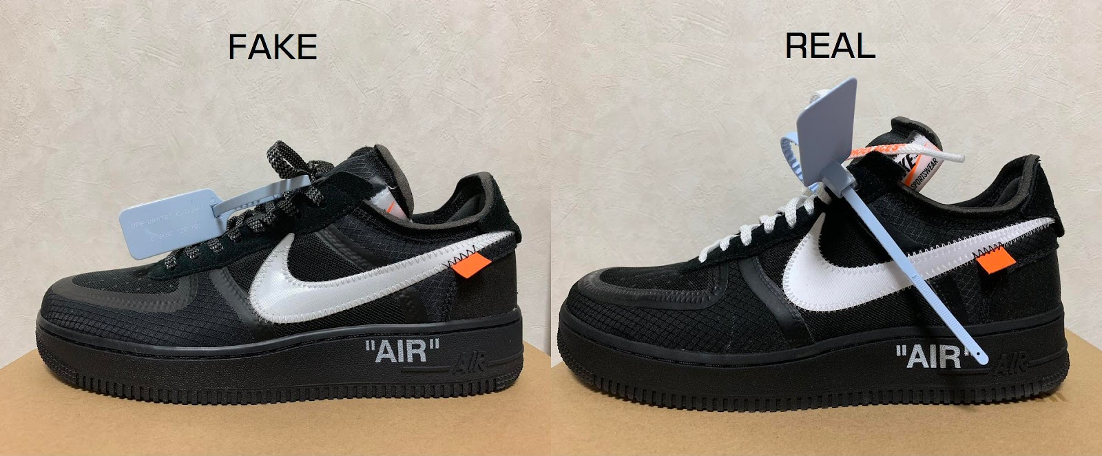 nike air force 1 low off white fake vs real ring knows ring