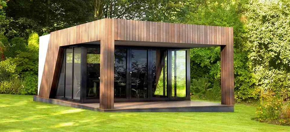 6 reasons to consider prefab shipping container homes for for Garden gym room uk