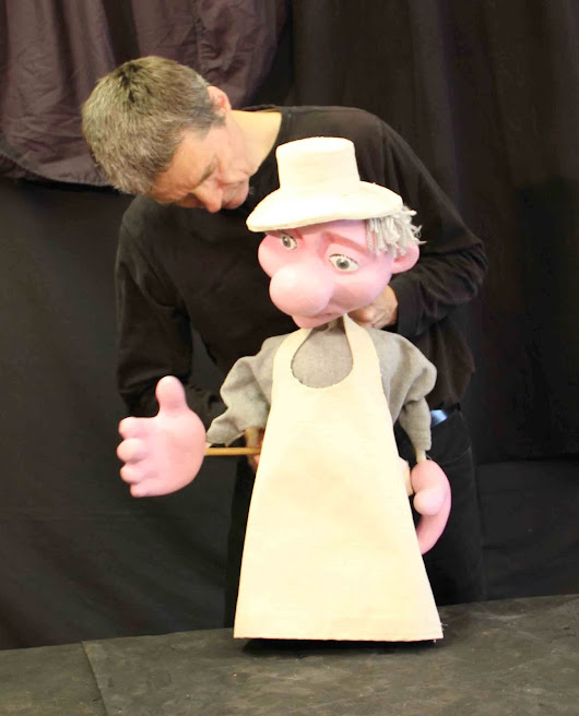 United Personalities: Acting with Table Top Puppets at Puppet Showplace Theatre