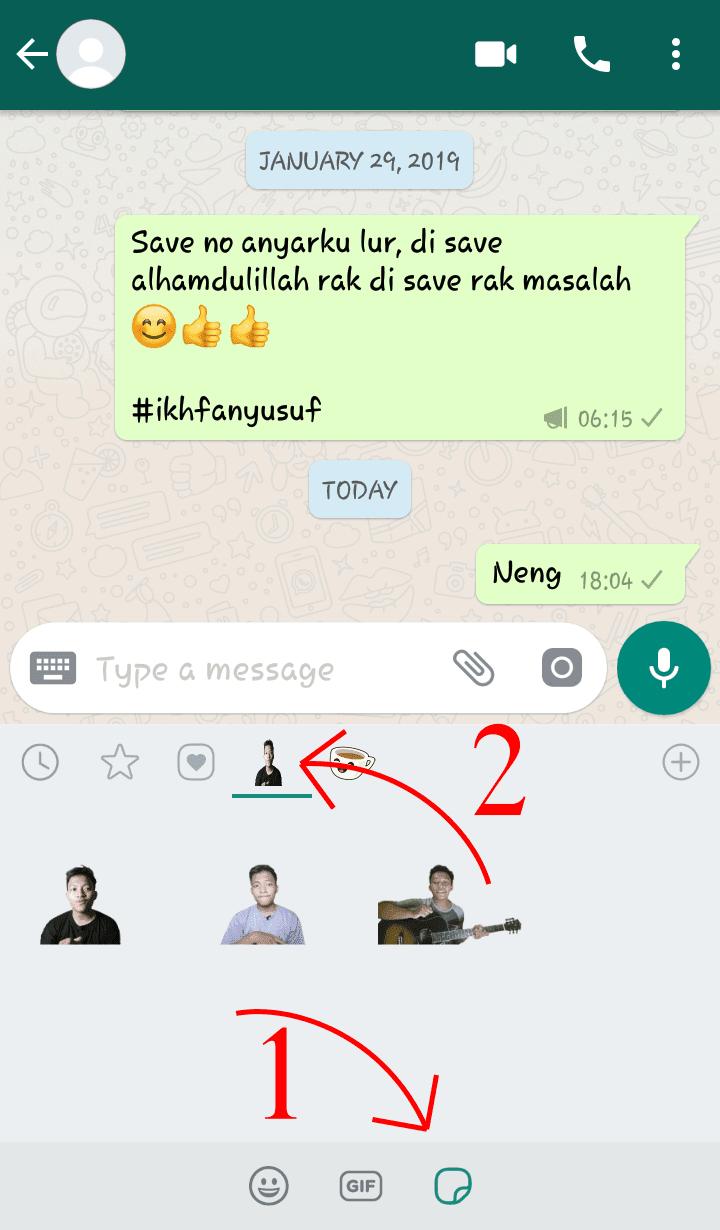 Membuat Stiker Whatsapp Sendiri Di Android Mudah